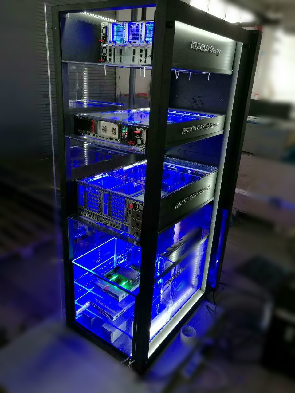 ZTE Transparent Rack