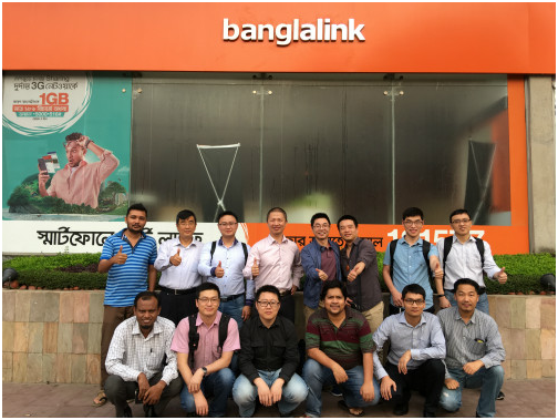 Delivery of Bangladesh Banglalink vSDM project